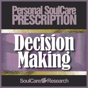 SoulCare Prescription - Decision Making